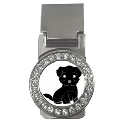 Affenpinscher Cartoon Money Clip (CZ)