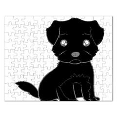 Affenpinscher Cartoon Jigsaw Puzzle (Rectangle)