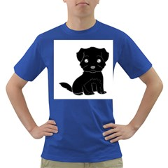 Affenpinscher Cartoon Men s T-shirt (Colored)