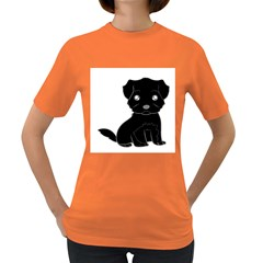 Affenpinscher Cartoon Women s T-shirt (Colored)