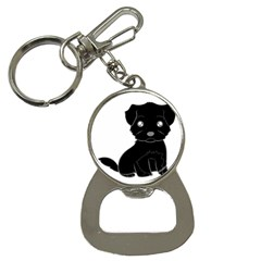 Affenpinscher Cartoon Bottle Opener Key Chain