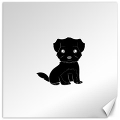 Affenpinscher Cartoon Canvas 20  x 20  (Unframed)