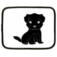 Affenpinscher Cartoon Netbook Sleeve (Large)