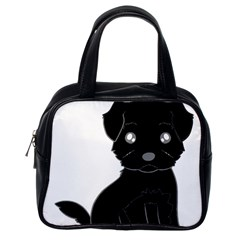 Affenpinscher Cartoon Classic Handbag (One Side)