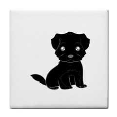 Affenpinscher Cartoon Face Towel