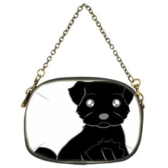 Affenpinscher Cartoon Chain Purse (One Side)