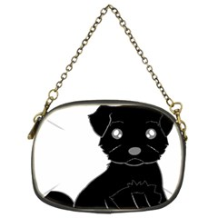 Affenpinscher Cartoon Chain Purse (Two Sided)