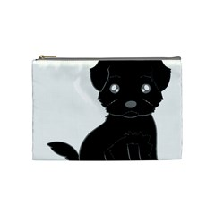 Affenpinscher Cartoon Cosmetic Bag (Medium)