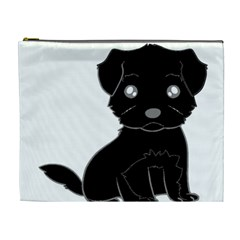 Affenpinscher Cartoon Cosmetic Bag (XL)