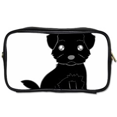 Affenpinscher Cartoon Travel Toiletry Bag (One Side)