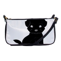 Affenpinscher Cartoon Evening Bag