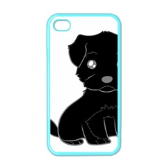 Affenpinscher Cartoon Apple iPhone 4 Case (Color)