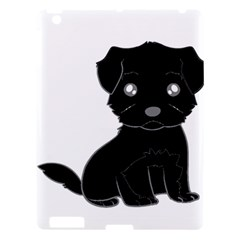 Affenpinscher Cartoon Apple iPad 3/4 Hardshell Case