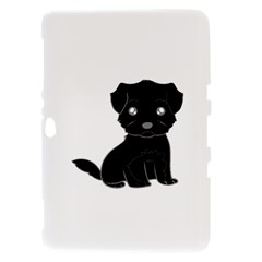 Affenpinscher Cartoon Samsung Galaxy Tab 8.9  P7300 Hardshell Case