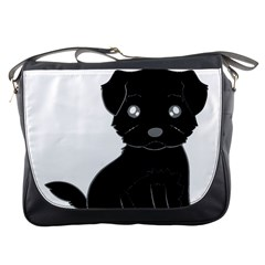 Affenpinscher Cartoon Messenger Bag