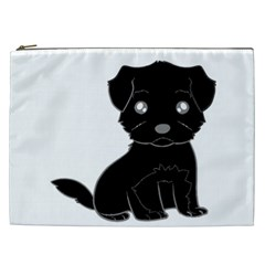 Affenpinscher Cartoon Cosmetic Bag (XXL)