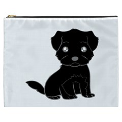 Affenpinscher Cartoon Cosmetic Bag (XXXL)
