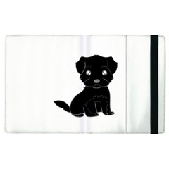 Affenpinscher Cartoon Apple iPad 3/4 Flip Case