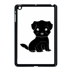 Affenpinscher Cartoon Apple iPad Mini Case (Black)