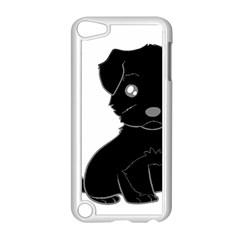Affenpinscher Cartoon Apple iPod Touch 5 Case (White)