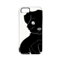 Affenpinscher Cartoon Apple iPhone 5 Classic Hardshell Case (PC+Silicone)