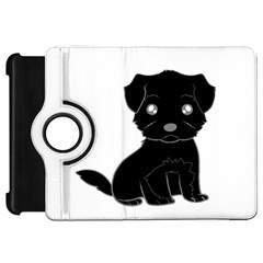 Affenpinscher Cartoon Kindle Fire HD Flip 360 Case