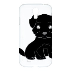 Affenpinscher Cartoon Samsung Galaxy S4 I9500/I9505 Hardshell Case