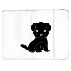 Affenpinscher Cartoon Samsung Galaxy Tab 7  P1000 Flip Case
