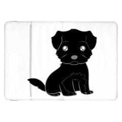 Affenpinscher Cartoon Samsung Galaxy Tab 8.9  P7300 Flip Case