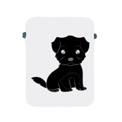 Affenpinscher Cartoon Apple iPad Protective Sleeve