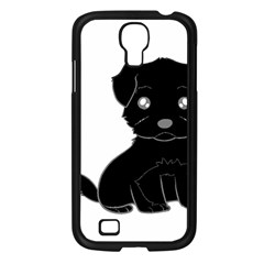 Affenpinscher Cartoon Samsung Galaxy S4 I9500/ I9505 Case (Black)
