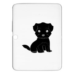 Affenpinscher Cartoon Samsung Galaxy Tab 3 (10.1 ) P5200 Hardshell Case