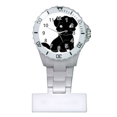 Affenpinscher Cartoon Nurses Watch