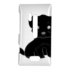 Affenpinscher Cartoon Nokia Lumia 928 Hardshell Case