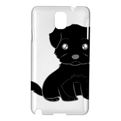 Affenpinscher Cartoon Samsung Galaxy Note 3 N9005 Hardshell Case
