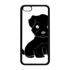 Affenpinscher Cartoon Apple iPhone 5C Seamless Case (Black)