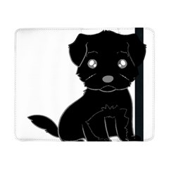 Affenpinscher Cartoon Samsung Galaxy Tab Pro 8.4  Flip Case