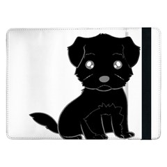 Affenpinscher Cartoon Samsung Galaxy Tab Pro 12.2  Flip Case