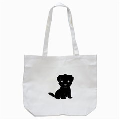 Affenpinscher Cartoon Tote Bag (White)