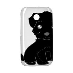 Affenpinscher Cartoon Motorola Moto E Hardshell Case