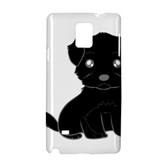 Affenpinscher Cartoon Samsung Galaxy Note 4 Hardshell Case