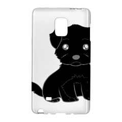 Affenpinscher Cartoon Samsung Galaxy Note Edge Hardshell Case