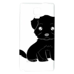 Affenpinscher Cartoon Samsung Note 4 Hardshell Back Case