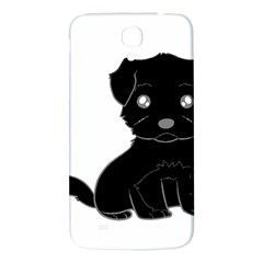 Affenpinscher Cartoon Samsung Galaxy Mega I9200 Hardshell Back Case