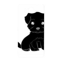 Affenpinscher Cartoon Samsung Galaxy Alpha Hardshell Back Case