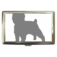 Affenpinscher Color Grey Silo Cigarette Money Case