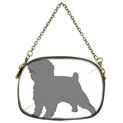 Affenpinscher Color Grey Silo Chain Purse (One Side)