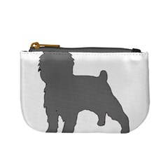 Affenpinscher Color Grey Silo Coin Change Purse