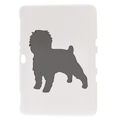 Affenpinscher Color Grey Silo Samsung Galaxy Tab 8.9  P7300 Hardshell Case