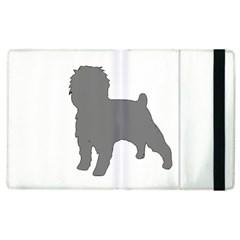 Affenpinscher Color Grey Silo Apple iPad 3/4 Flip Case